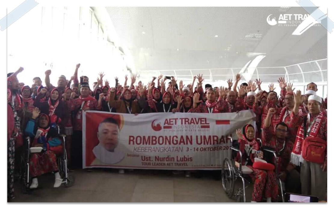 71 Jamaah AET Travel Indonesia Berangkat Ke tanah Suci Hari Ini