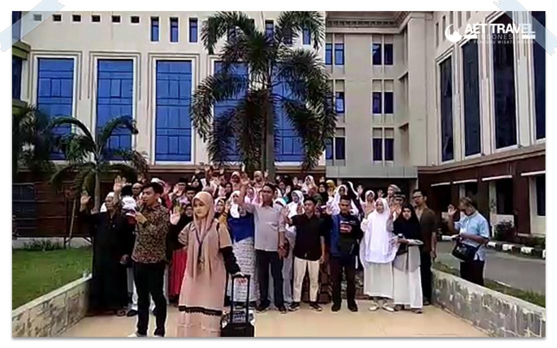 AET Travel Indonesia Berangkatkan Jamaah Umrah