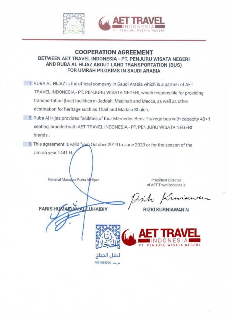 Kontrak Bus