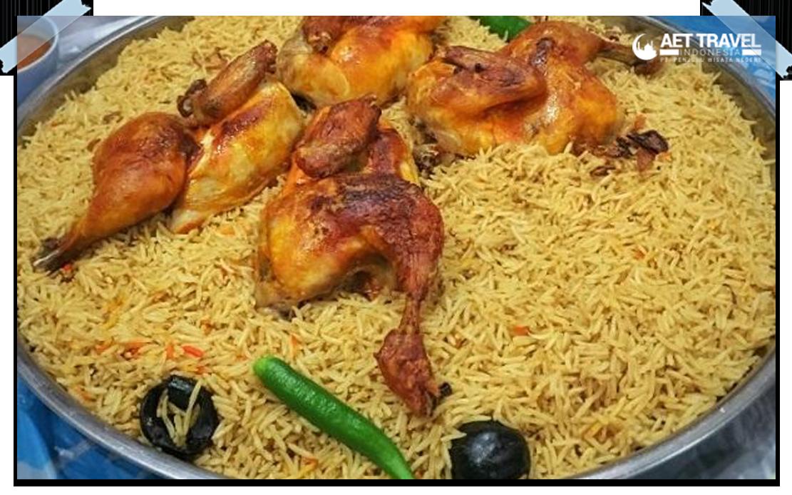 3 jenis nasi khas arab